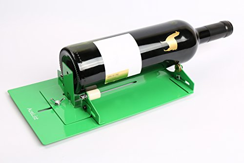 Acelist long glass bottle cutter cutting tool kits easy for How to use a glass cutter on a bottle