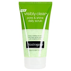 Neutrogena Visibly Clear Pore and Shine Daily Scrub - 150 ml