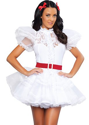 3WISHES 'Plantation Cutie Costume' Sexy Southern Belle Costume for Women