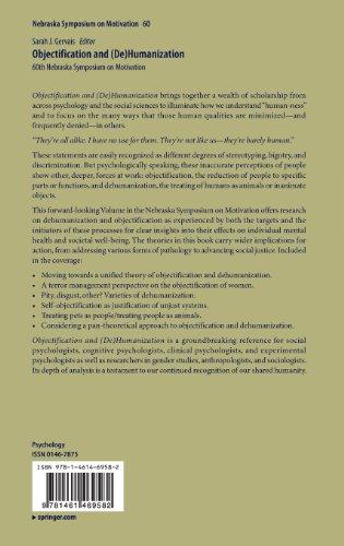 Objectification and (de)Humanization: 60th Nebraska Symposium on Motivation