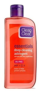 Clean & Clear Deep Cleaning Oil-Fighting Face Astringent, 8 oz, 2 pk from Clean & Clear