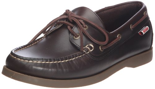 Aigle Men's America 2 Dark Brown 2 Shoes 4235J Brown UK 6.5