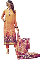 Lebaas Designer Lawn Cotton Evening Wear A-Line (Unstitched Dress Material) - (With Discount and Sale Offer)