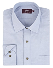 2in Shorter Pure Cotton Twill Shirt