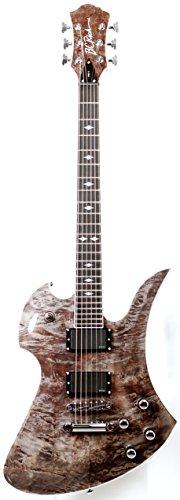 B.C. Rich Pro X Pxmhbb Pro X Mockinbird Hardtail Electric Guitar, Black Burl