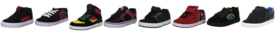 Etnies Kids Fader Vulc Strap Fashion Sports Skate Shoe