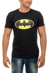 Shop Your Style Men's Cotton T-Shirt (ZYN00B12_L, Black, Large)