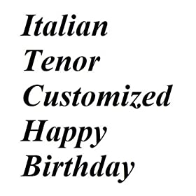 Amazon.com: Italian Tenor Happy Birthday Grandpa: Meme Entertainment