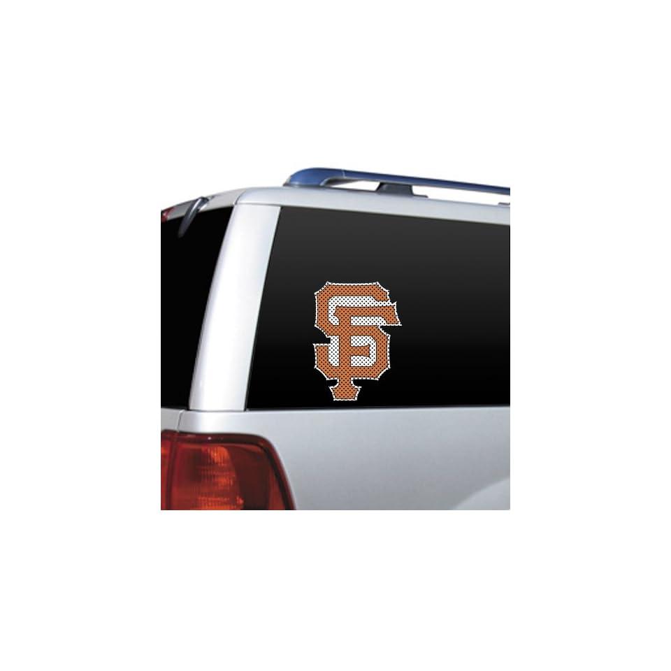 MLB San Francisco Giants Die Cut Window Film