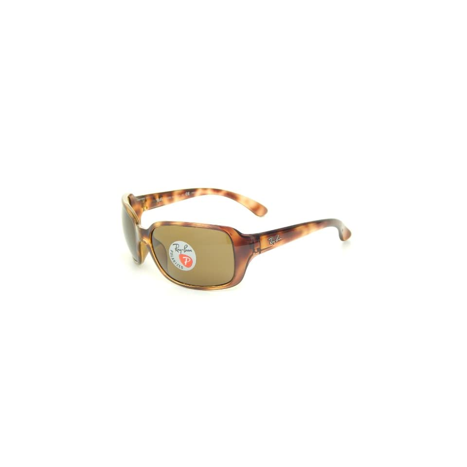 a05909cb703 Ray Ban RB4068 642 57 Tortoise Polarized Brown 60mm Sunglasses on ...