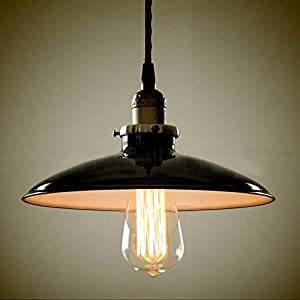 Buyee Modern Vintage Industrial Metal black Ceiling Light Metal Shade Pendant Light from Shenzhen Buyee Trading Co.,Ltd