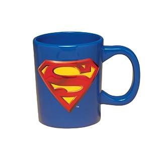 Vandor 18-Ounce Sculpted Mug, Superman