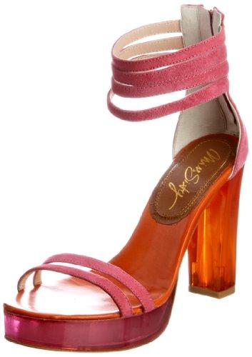 Miss Sixty Women's Fleur Pink Platforms Q02231-SU9641-D02771