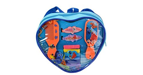 FInding Dory Heart Shaped Backpack Hair Accessories Set (1 Set)