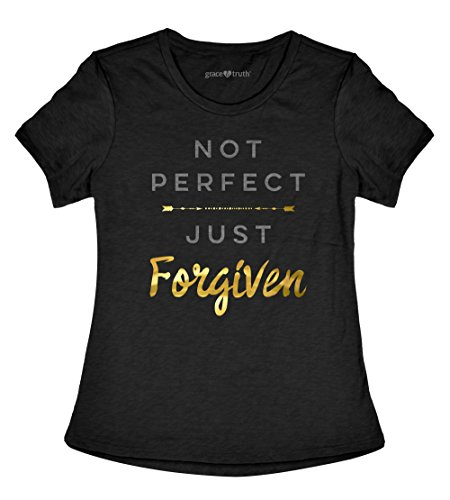 Grace-Truth-Not-Perfect-Just-Forgiven-Womens-Christian-T-Shirt