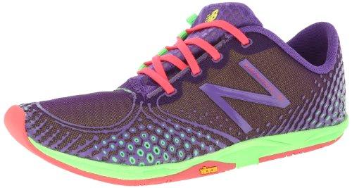 New Balance Women's WR00 Minimus Road Running Shoe,Purple/Green,9 B US
