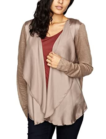 ESPRIT Collection Damen T-Shirt, F23712, Gr. 42 (XL), Braun (Chestnut 231)