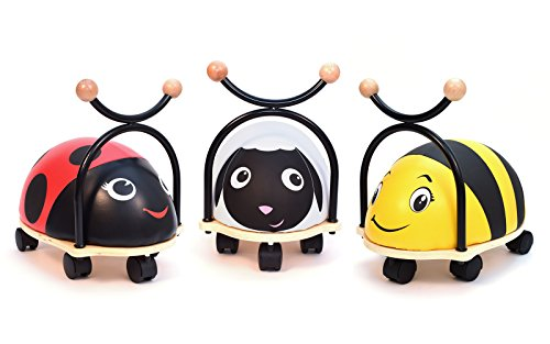 3Style-Scooters-Roller-Buddy-Childrens-Ride-On-Toy-Walker-Soft-Wooden-Balance-Bike-Ladybird-Bumblebee-Sheep