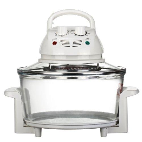 Best Countertop Halogen Oven : 10 1/2 Quart Premium 1200w Halogen Convection Countertop Oven Cooker ...