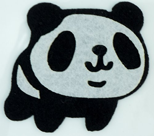 Cute Panda Diy Applique Embroidered Sew Iron On Patch