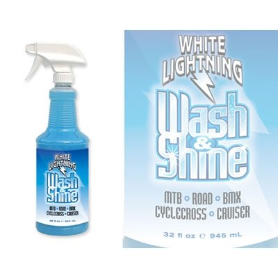 White Lightning Wash & Shine Biodegradable Bike Wash - 32 oz - W00320102