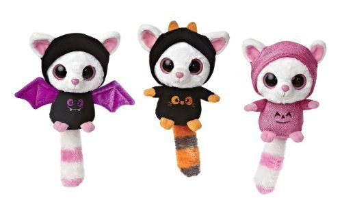 "Aurora Halloween Bat and Ghosts Pammee Scary Sweet Yoo Hoo 5"" set of 3 Friends"