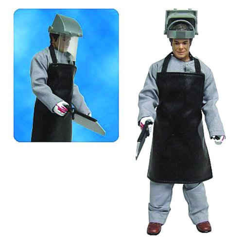 Dexter Morgan with Scrubs, Apron & Mask Action Figure