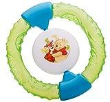 Sonajero Anillo mordedor frío lleno de agua Disney Winnie Pooh verde ab 3 Meses