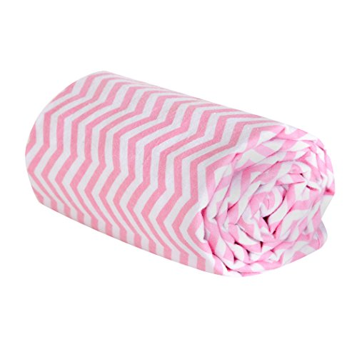 Trend Lab Swaddle Blanket, Pink Chevron