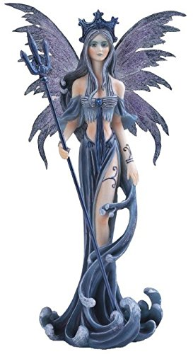 StealStreet SS-G-91200 Fairy Collection Blue Pixie Desk Decoration Figurine Collectible Decor