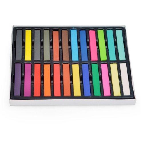 maltonyo17-24-colori-diy-pittura-pastle-atossici-temporary-cosmetici-bellezza-capelli-chalk-dye-colo