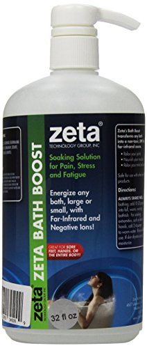 Zeta Bath Boost for Feet and Body, 32 Ounce