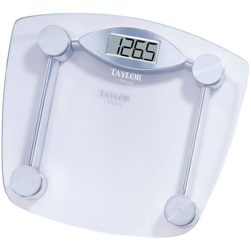 Taylor 7506 Chrome & Glass Lithium Digital Scale (Taylor Model 7506 compare prices)