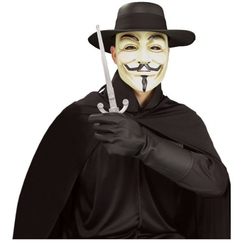 V For Vendetta Gloves Costume Accessory