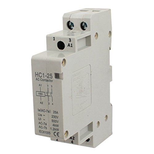 110V Coil Voltage 25A 2 Pole Universal Circuit Control AC Contactor 2 Pole Contactor Type