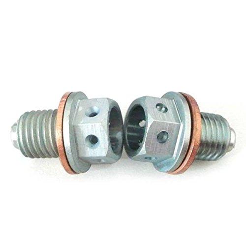 Generic CNC magnetisch Ablauf Bolt Plug Dirt Bike 70cc 110cc 125cc 140cc 150cc 160cc Silber