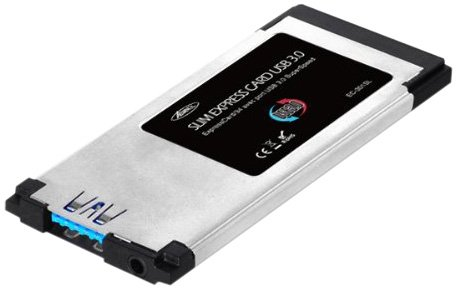 Advance EC-301SL Carte controleur pour notebook Express card