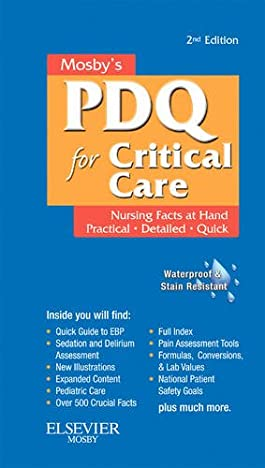 Mosby's Nursing PDQ for Critical Care