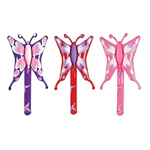 Butterfly Inflatable Lollipops (1 dz)