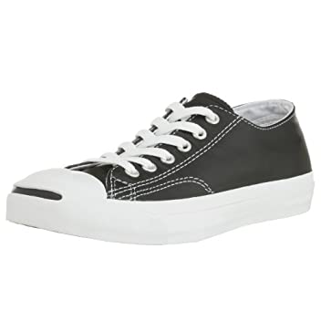 Jack Purcell Leather: Black