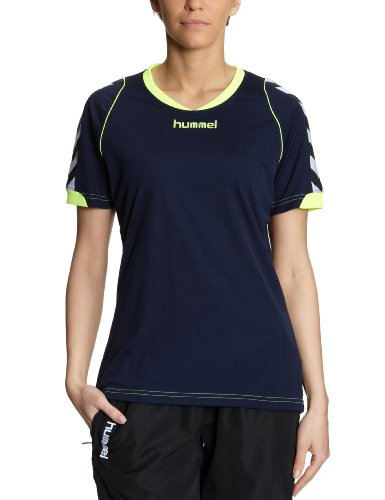 Hummel Damen Trikot BEE AUTHENTIC Short Sleeves JERSEY, marine, S, 03-911-7026_7026