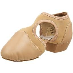 Capezio Little Kid Pedini Femme PP323C Jazz Shoe,Caramel,1 M US Little Kid