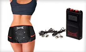 Bottom Transform: Total Fitness Set 2 in 1 Ab Transform Plus+ Toning Belt and Bottom Toning Belt (2 Set Kit)
