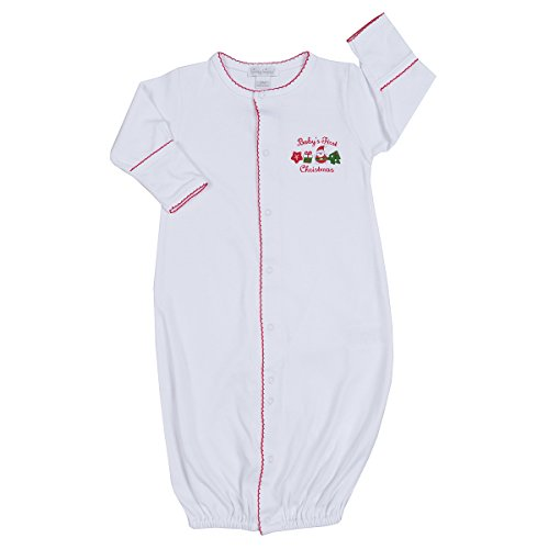 Kissy Kissy Babys First Christmas 2016 Converter Gown-Newborn