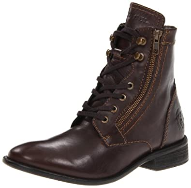 Diesel Men's Mil Boot,Coffee Bean,7 M US