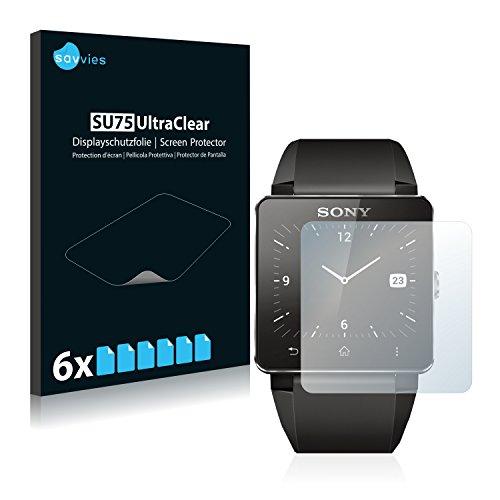 6x Film Protection pour Sony Smartwatch 2 Protection écran Film Protecteur Transparent
