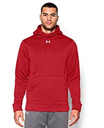 Under Armour Men\'s UA Storm Armour® Fleece Team Hoodie Large Tall Red