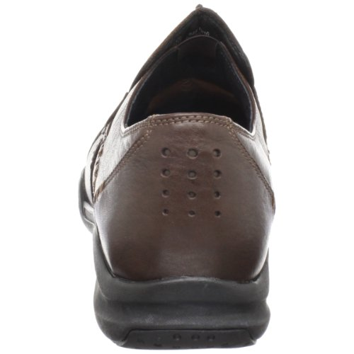 Clarks Women's Wave.Run Slip-On,Dark Brown,6.5W US