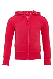 Cotton Rich Zip Through Hooded Top [T77-6035P-Z]