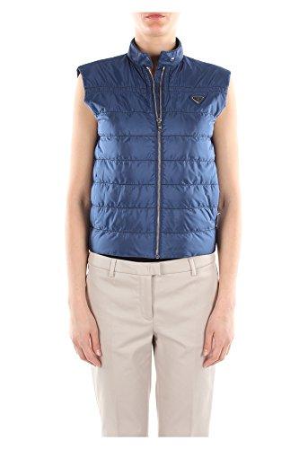 290830INCHIOSTROBLUNYLON-Prada-Gilets-Femme-Polyamide-Bleu